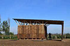 Galería de Soporte Productivo para Ñiquén: reciclaje material e inspiración vernácula - 2