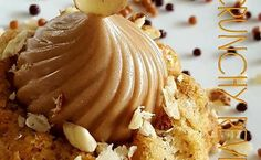 Recette de Crumchy Revisités - i-Cook'in Fancy Desserts, Mini Cakes, Cakes And More, Caramel Apples, Macarons, Waffles, Biscuits, Buffet, Dessert Recipes