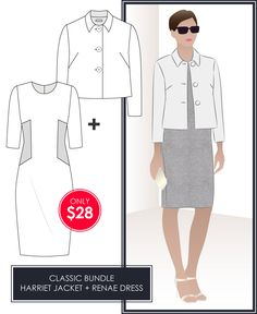 Harriet Jacket and Renae Dress Classic March Bundle
