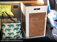 Das fertige mobile Küchenmodul für den VW Bus