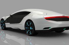 Future Audi A9 Concept car GT series