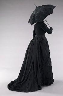 Trauerkleid, 1870, Met Museum