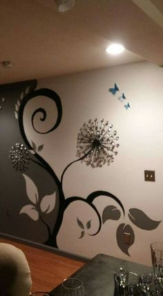>>Visit the webpage to read more on metal tree skirt. Click the link to get more information~~~~~~ The web presence is worth checking out. Diy Wand, Mural Art, Wall Murals, Ceiling Design, Wall Design, Bedroom Wall, Bedroom Decor, Diy Wall Painting, Diy Wall Art