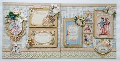 Paperiah: Gilded Lily 2 page layout