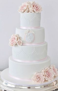 Wedding cake idea; Featured Cake: Cakes 2 Kreate