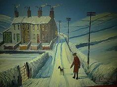 James Downie Oil Painting