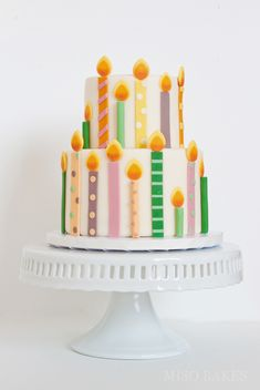 MisoBakes Fifteen Candles for a 15 year-old