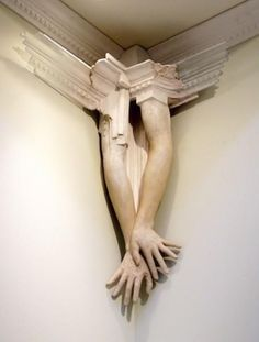 "jennizaqt: Snail Scott, ""Construct (3)"", Sculpture, Wood, Ceramic, 2012"