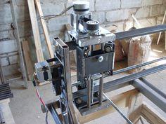 Самодельный станок чпу - Домашний ЧПУ (CNC) для хобби и работы. Автор: Эдуард Ав