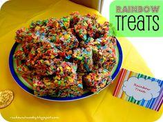 My Little Pony Birthday Party -- maybe Rainbow Dash's Sonic Rainbow treats?
