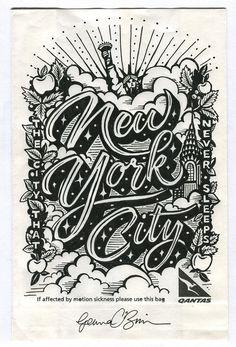 NYC - Mrs. Eaves - Coleccion ciudades