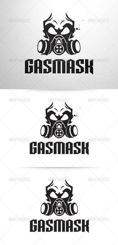 Gasmask Logo Template