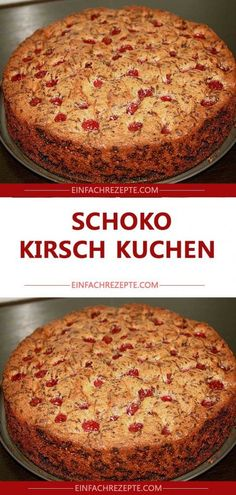 DELICIOUS chocolate cherry cake The post DELICIOUS chocolate cherry cake appeared first on Dessert Factory. Easy Cheesecake Recipes, Easy Smoothie Recipes, Homemade Cake Recipes, Easy Cookie Recipes, Snack Recipes, Dessert Recipes, Lemon Desserts, Chocolate Cherry Cake, Chocolate Cake Recipe Easy