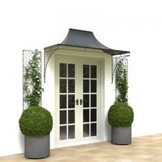 Timber Front Door Canopy Porch Bespoke Hand Made Porch Light Weight Door canopy – Large door cano Metal Door Canopy, Door Canopy Porch, Metal Awning, Window Canopy, Steel Canopy, Door Curtains, Timber Front Door, Front Door Porch, Porch Roof