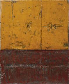 "thunderstruck9: ""Su Xiaobai (Chinese, b. 1949), Huang Tingjian, 2009. Oil, lacquer, linen and wood, 220 x 180 cm. """