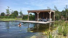 Natural Swimming Pools, Natural Pools, Gazebo, Villa, Outdoor Structures, Garden, Nature, Kiosk, Garten
