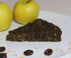 Makovo - jablkový koláč s vločkami • recept • bonvivani.sk