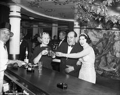 Good times: After prohibition, celebrities and New York's elite flocked to the Cotton Club to be seen