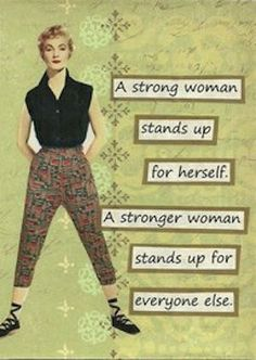 .strong woman