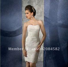 2013 Brand New Casual Strapless Short / Mini Wedding Dress $100.00