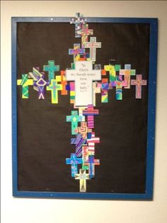 17 Best images about Catholic School Bulletin Boards on . Sunday School Rooms, Sunday School Activities, Church Activities, Sunday School Lessons, Sunday School Crafts, School Week, Easter Bulletin Boards, Christian Bulletin Boards, Church Bulletin Boards