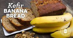 Kefir Banana Bread