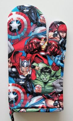 Your place to buy and sell all things handmade Captain America, Iron Man, Marvel Fabric, Marvel Gifts, Kitchen Oven, Bff Gifts, Baby Pillows, Incredible Hulk, Chef