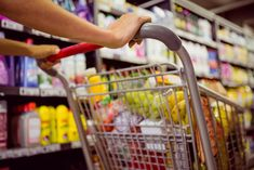 Find Woman Buy Products Her Trolley Supermarket stock images in HD and millions of other royalty-free stock photos, illustrations and vectors in the Shutterstock collection. Shopping List Grocery, Grocery Items, Grocery Store, Blockchain, Keto For Beginners, Taste Of Home, How To Stay Healthy, Saving Money, Nutrition