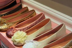 Ballet shoes for weddings,