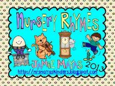 Nursery Rhymes {Beginning of Kindergarten Fun}