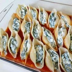 Spinach & Ricotta stuffed shells
