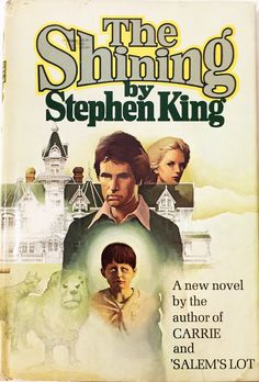 The Shining.  Vintage book by Stephen King circa 1977.  Horror & Literary Fiction.  Book Lover Gift.  Collectible Book.