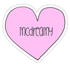 """mcdreamy"" Stickers by devonsdesigns 