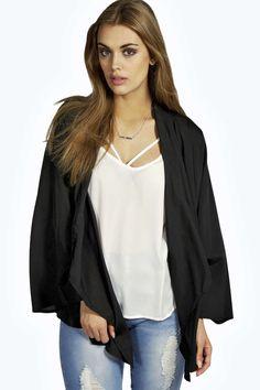 Darcy Basic Woven Kimono - Kimonos - Coats & Jackets - Clothing