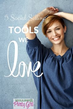Love! Social Selling tools for direct sellers and small biz include a Facebook Party scheduling tool, apps for photos/ party invites and graphics content creation.