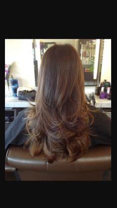 Long hair (look book)