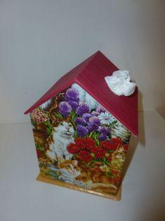 Boîte à mouchoirs maison
