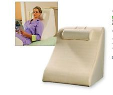 Jobri Spine Reliever Bed Wedge Pillow Back Support Orthopedic Chiropractic NEW