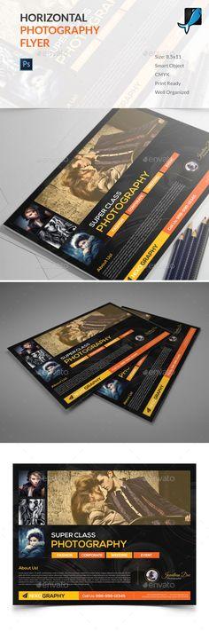 Horizontal Photography Flyer