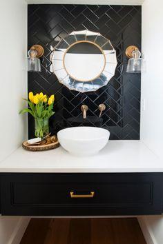 Image result for geometric tiles powderroom