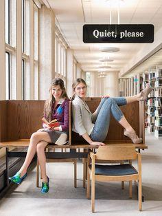 Tulane College Street Style: Alyssa, 21 and Sally, 20