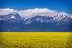 A slice of Slovakia for your Wednesday: the High Tatra mountains, near Poprad.