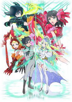 Anunciado el Anime original para televisión Luck & Logic a estrenarse el 9 de Enero del 2016.