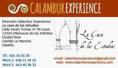Calambur Experience - Actividades y Experiencias en el Campo de Montiel - Portal Comercial