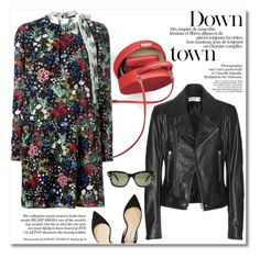 """""""Down town"""" by buwood ❤ liked on Polyvore featuring Balenciaga, Jimmy Choo, Valentino, autumnstyle, fall2015 and buwood"""