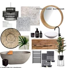 Home Decor Accessories Tribal Luxe Bathroom. Create your own bathroom mood board at Style Sourcebook. Designed by Decor Accessories Tribal Luxe Bathroom. Create your own bathroom mood board at Style Sourcebook.