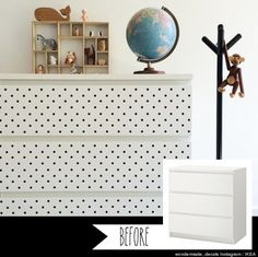 IKEA hack - white dresser