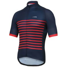 Wiggle | dhb Classic Breton Short Sleeve Jersey | Short Sleeve Cycling Jerseys