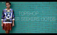 Topshop Summer Seekers OOTDs   sunbeamsjess