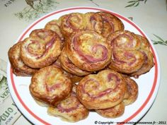 Palmiers au jambon présentation